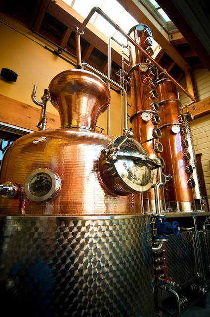 copper still at high west