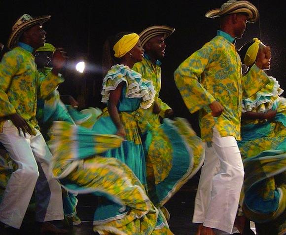 Dancing In Palengue de San Basilio