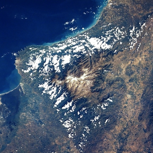 Sierra Nevada de Santa Marta Viewed From Space
