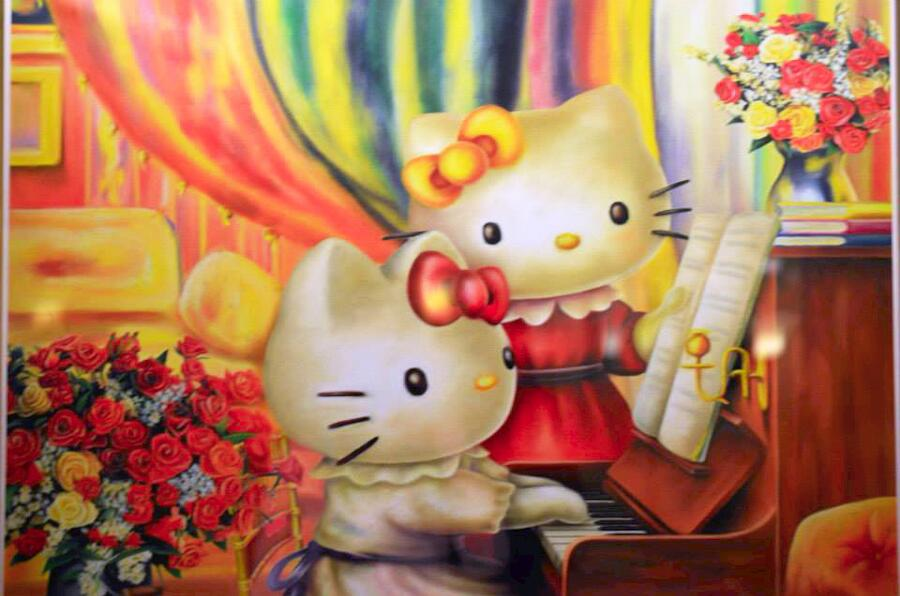 hello kitty artwork