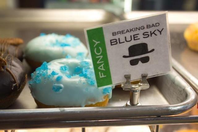 blue sky donut
