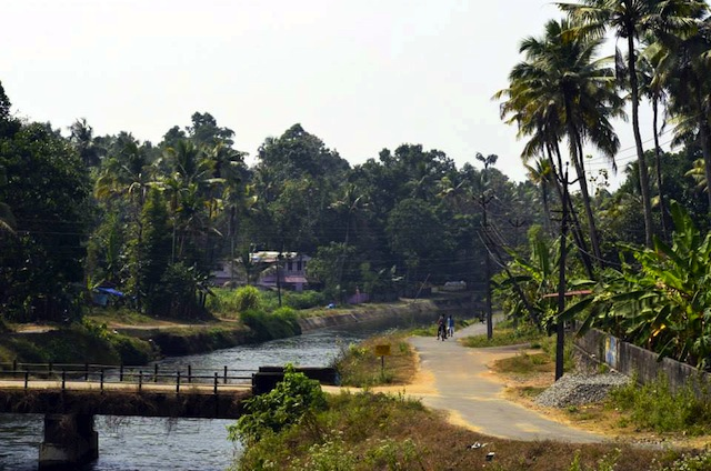 Kerala's Canal Route