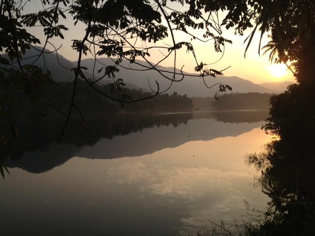 Hornbill Camp sunrise