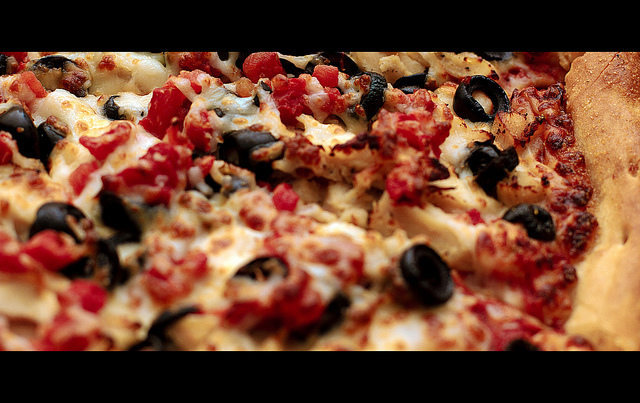 Pizza. Photo courtesy of JDevaun.