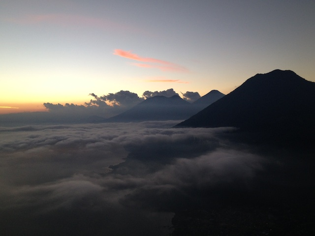 The Magical Sunrise Atop of Guatemala's Indian's Nose