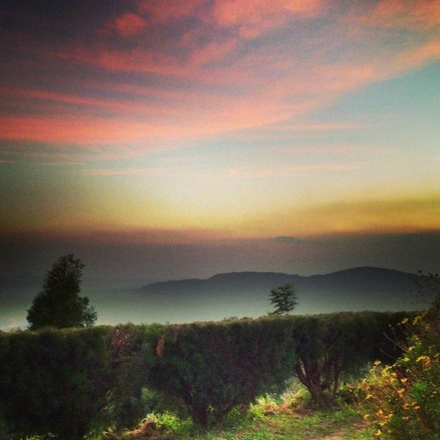 anaerangal camp sunset