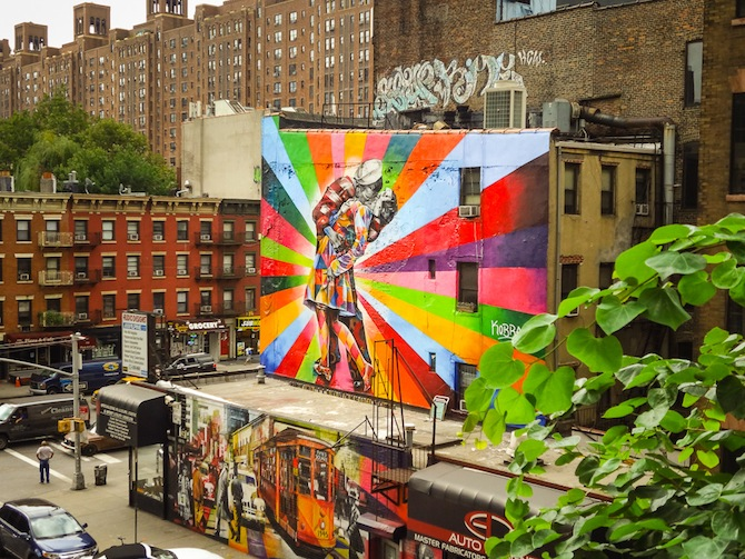 the high line art
