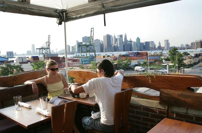 Taking in stunning summertime views of new york city we for Alma terrace york