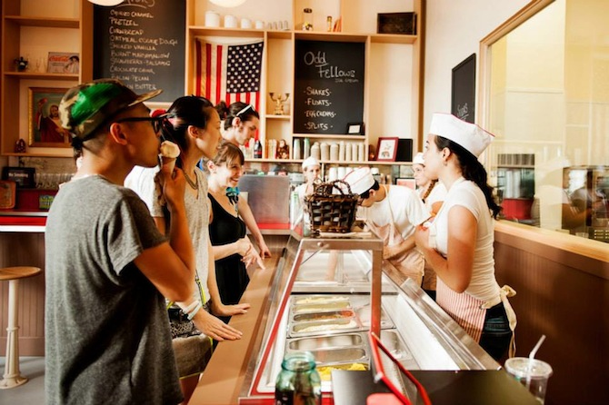 Fun & Artisanal Ice Cream Goes Quirky In Brooklyn