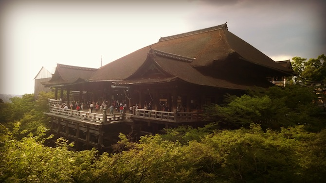 The Awe-Inspiring Kiyomizu-dera Temple In Kyoto Japan