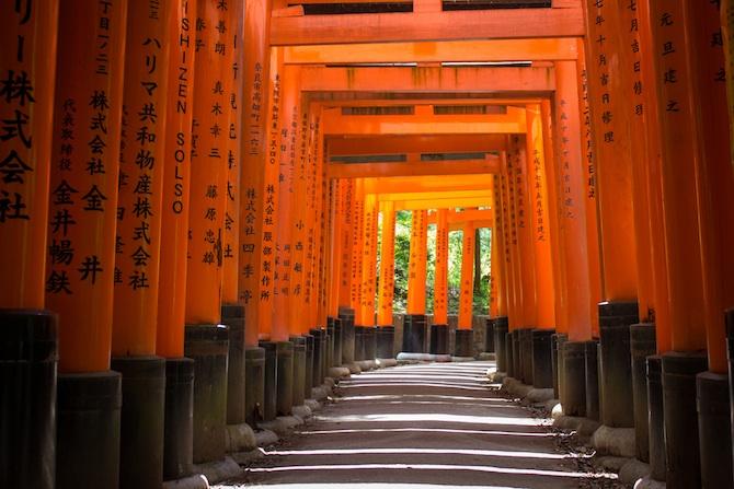 Fushimi Inari Taisha Shrine - Kyoto Japan  Jessie on a ...