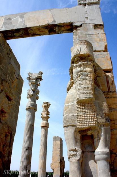 The main ceremonial entryway to Persepolis