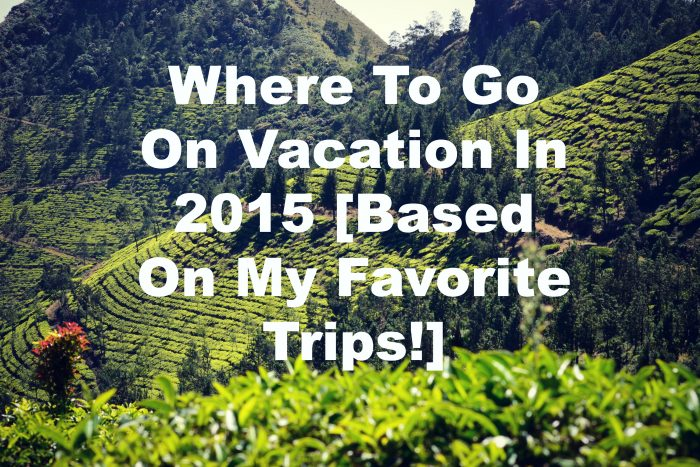 where to go on vacation