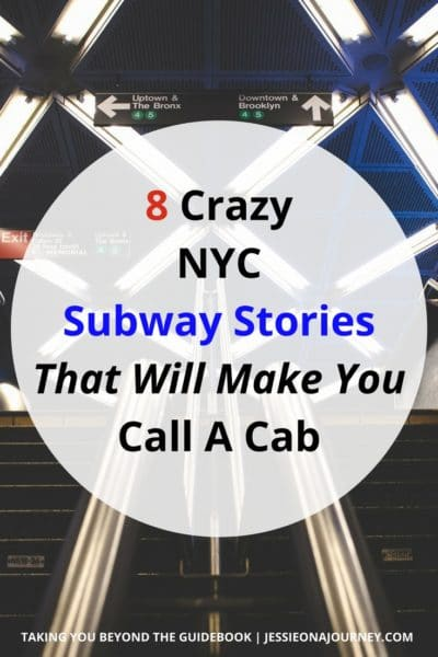 NYC subway stories that will make you call a cab.