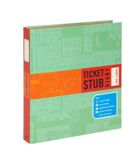 Travel Ticket Stub Collection Book
