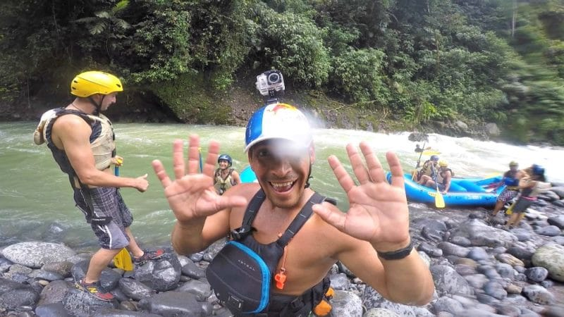 Organic Farming & White Water Rafting Costa Rica Style