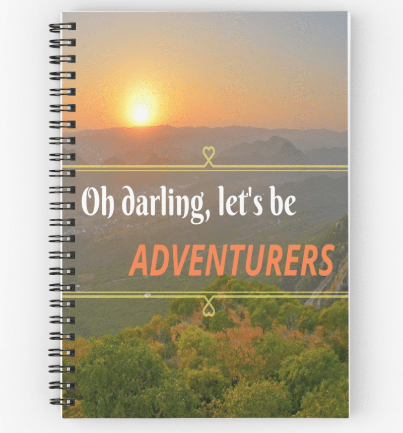unique trip diary oh darling let s be adventurers journal