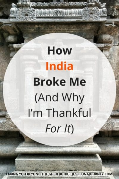 traveling through india