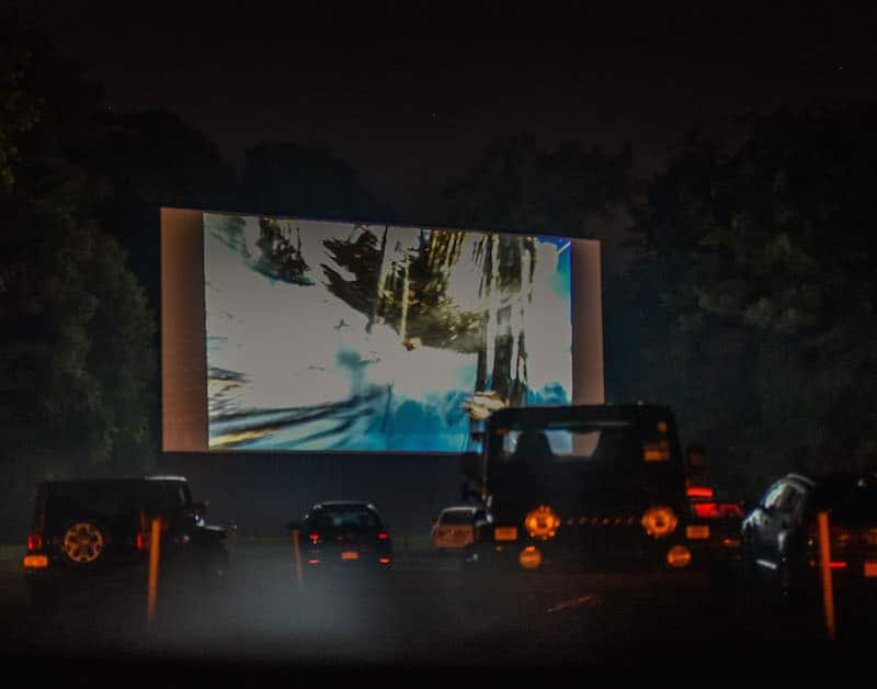 things to do in dutchess county - drive-in theater at night