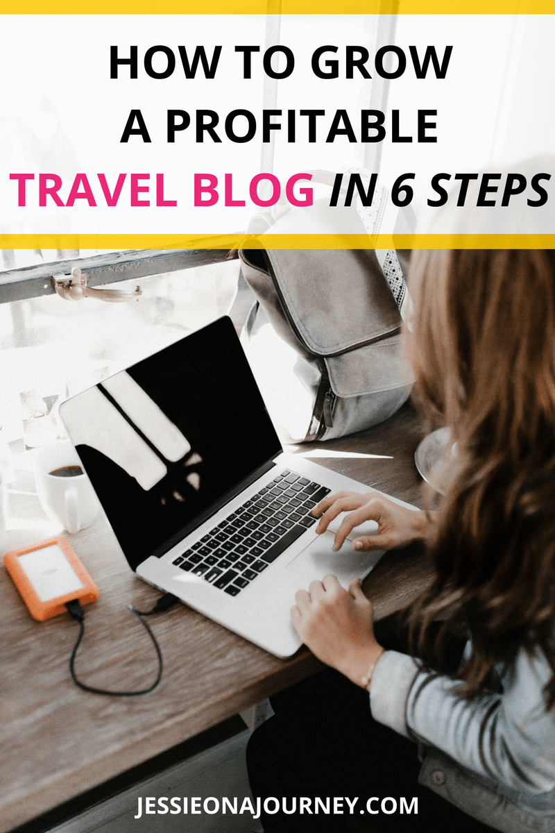 How to grow a profitable travel blog in 6 steps