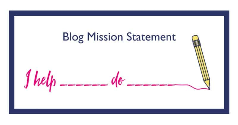 defining a blog mission