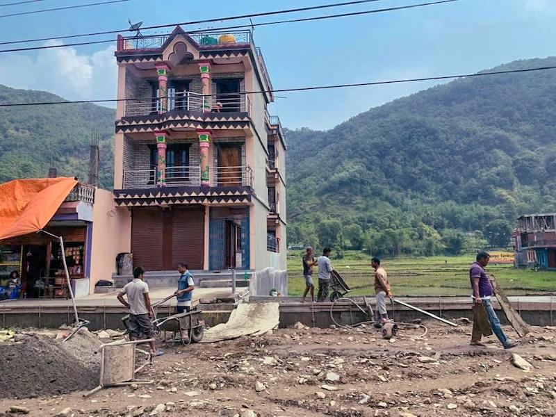 driving kathmandu to pokhara