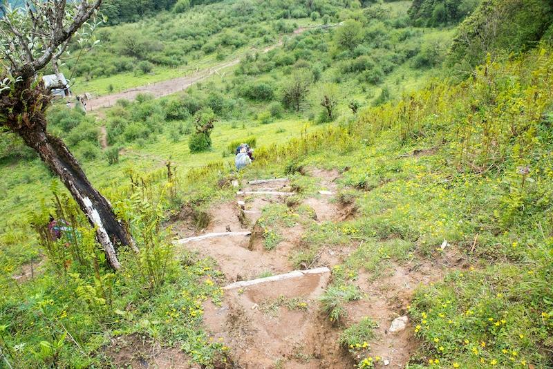Mohare Danda descent