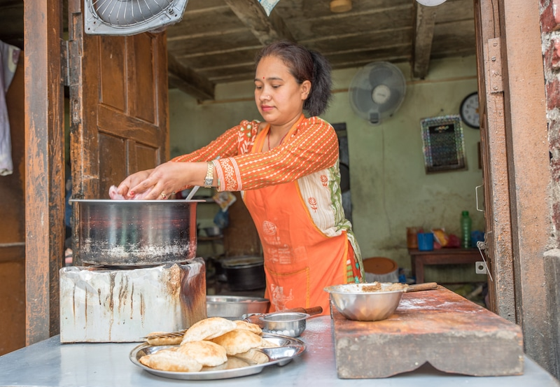 kathmandu food tour