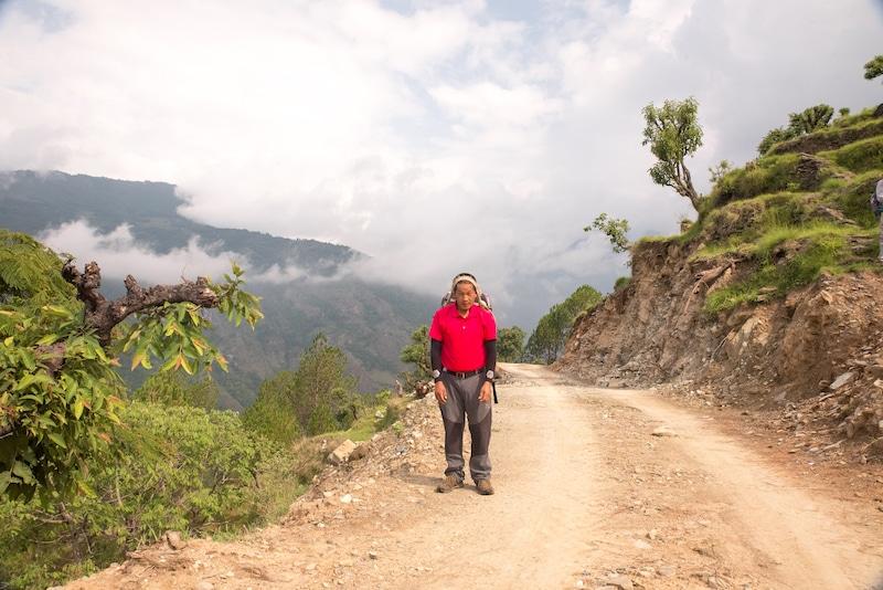 nepal porter kim
