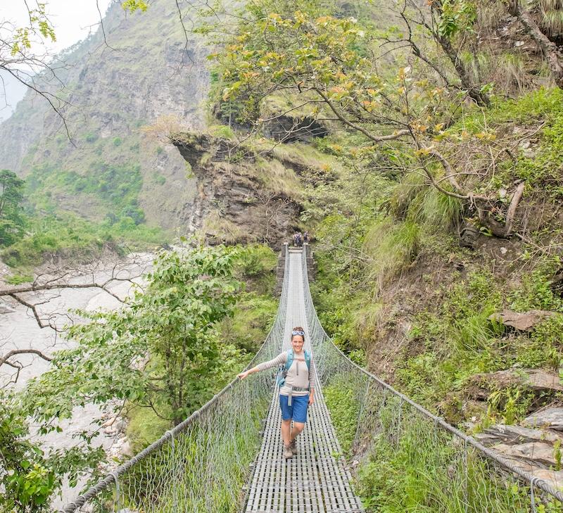 mohare Danda bridge