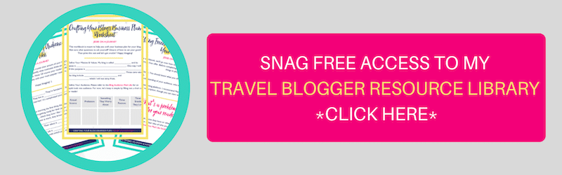 TRAVEL BLOGGER RESOURCE LIBRARY