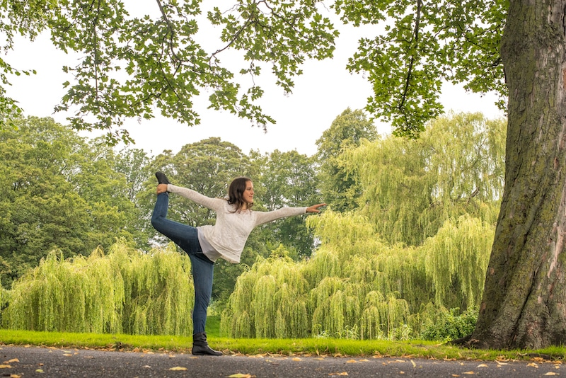 yoga in bitts park carlisle