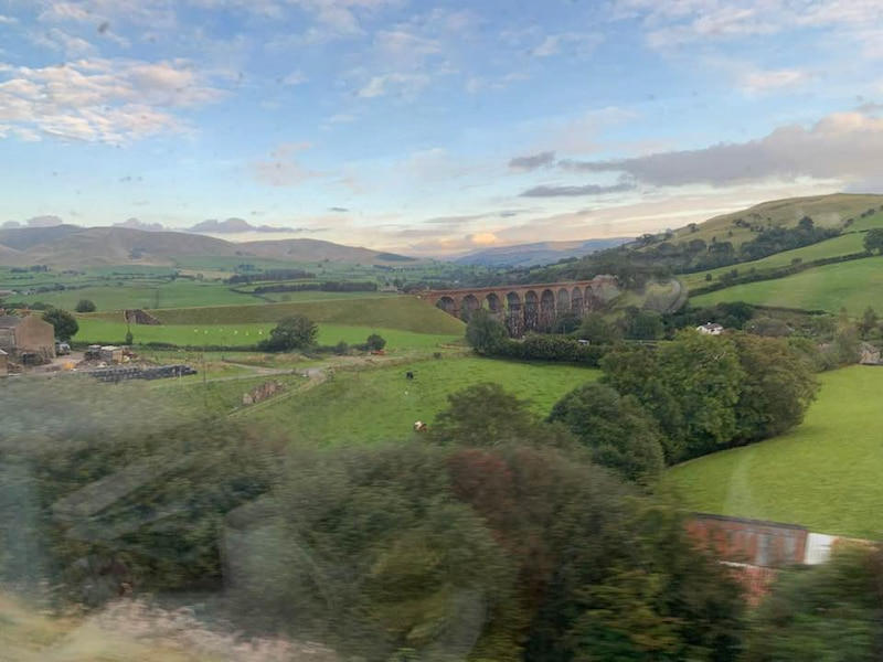 BritRail train views