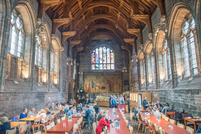 Chester Cathedral Refectory Cafe