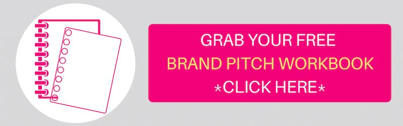 brand pitch templates