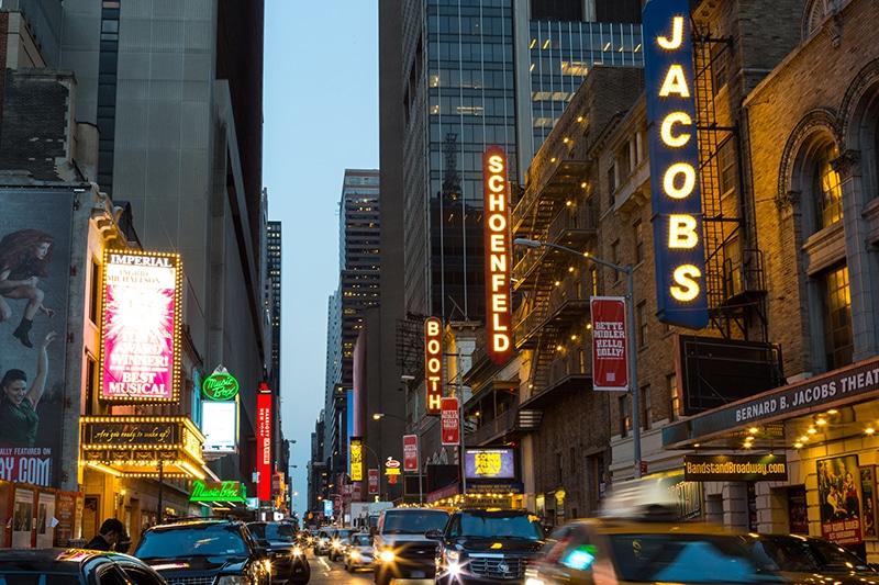 Theatre District, New York, NY