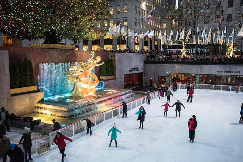 Rink at Rockefeller Center, New York, NY