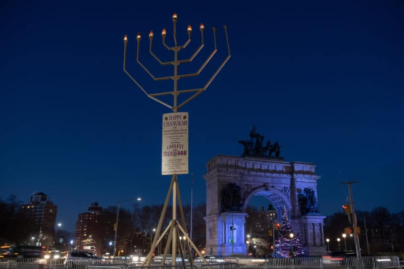 Grand Army Plaza Menorah