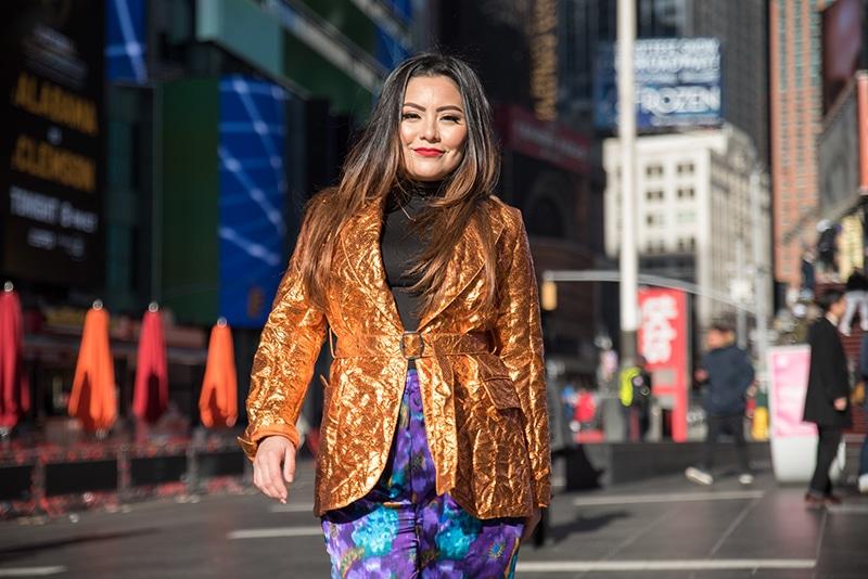 Times Square photo shoot, New York City, NY