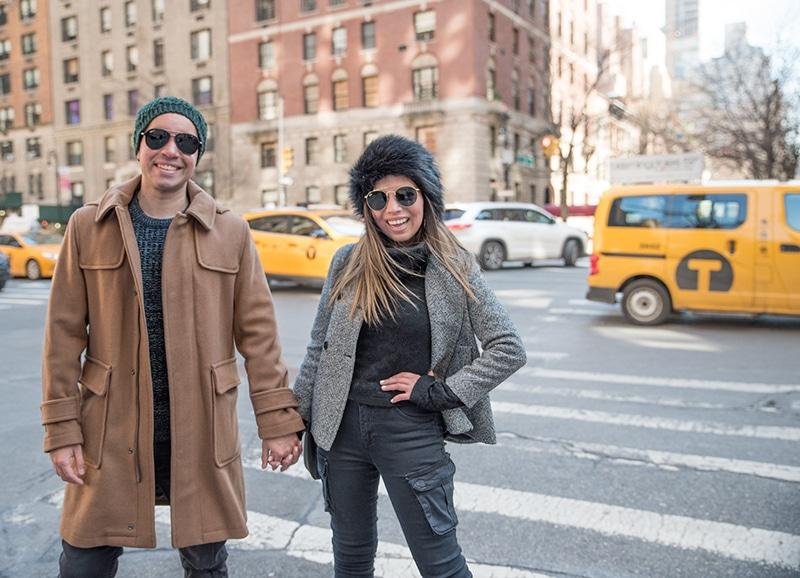 Park Avenue Couple, New York City